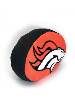 Cloud Denver Broncos Logo Pillow