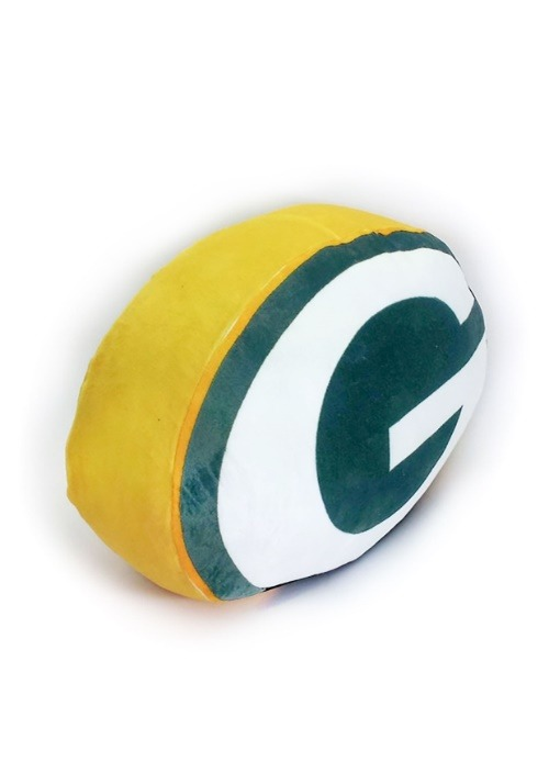 Green Bay Packers Cloud Logo Pillow