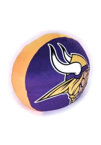 Minnesota Vikings Cloud Logo Pillow