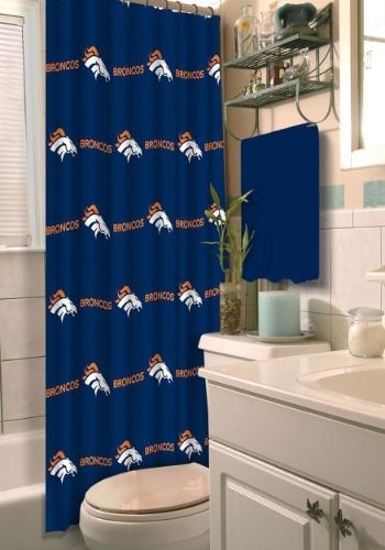 Denver Broncos Shower Curtain