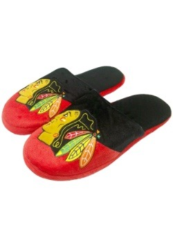 Chicago Blackhawks Colorblock Slide Slippers