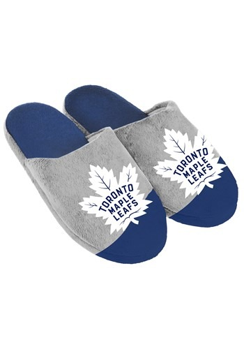Toronto Maple Leafs Colorblock Slide Slipper