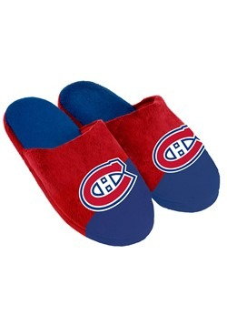 Montreal Canadiens Colorblock Slide Slippers