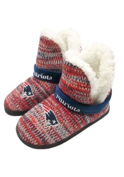 New England Patriots Womens Wordmark Peak Boots