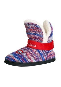Montreal Canadiens Wordmark Peak Mukluk Boots For Women Alt2