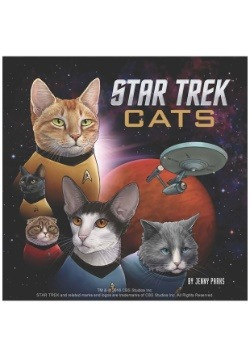 Star Trek Cats Hardcover Book
