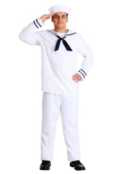 White Sailor Man Costume