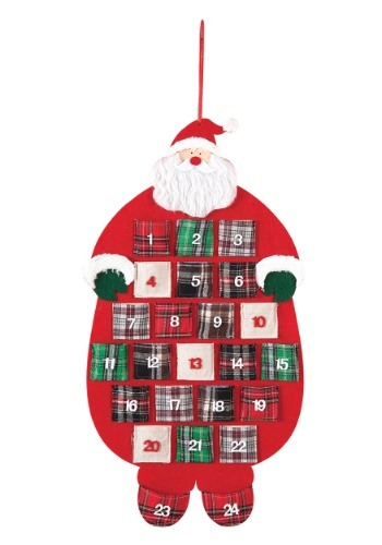 Santa Flannel Advent Calendar