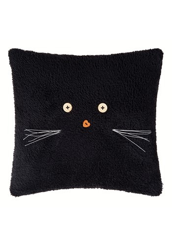 "Black Cat 12"" Pillow"