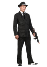 Deluxe Pin Stripe Gangster Suit