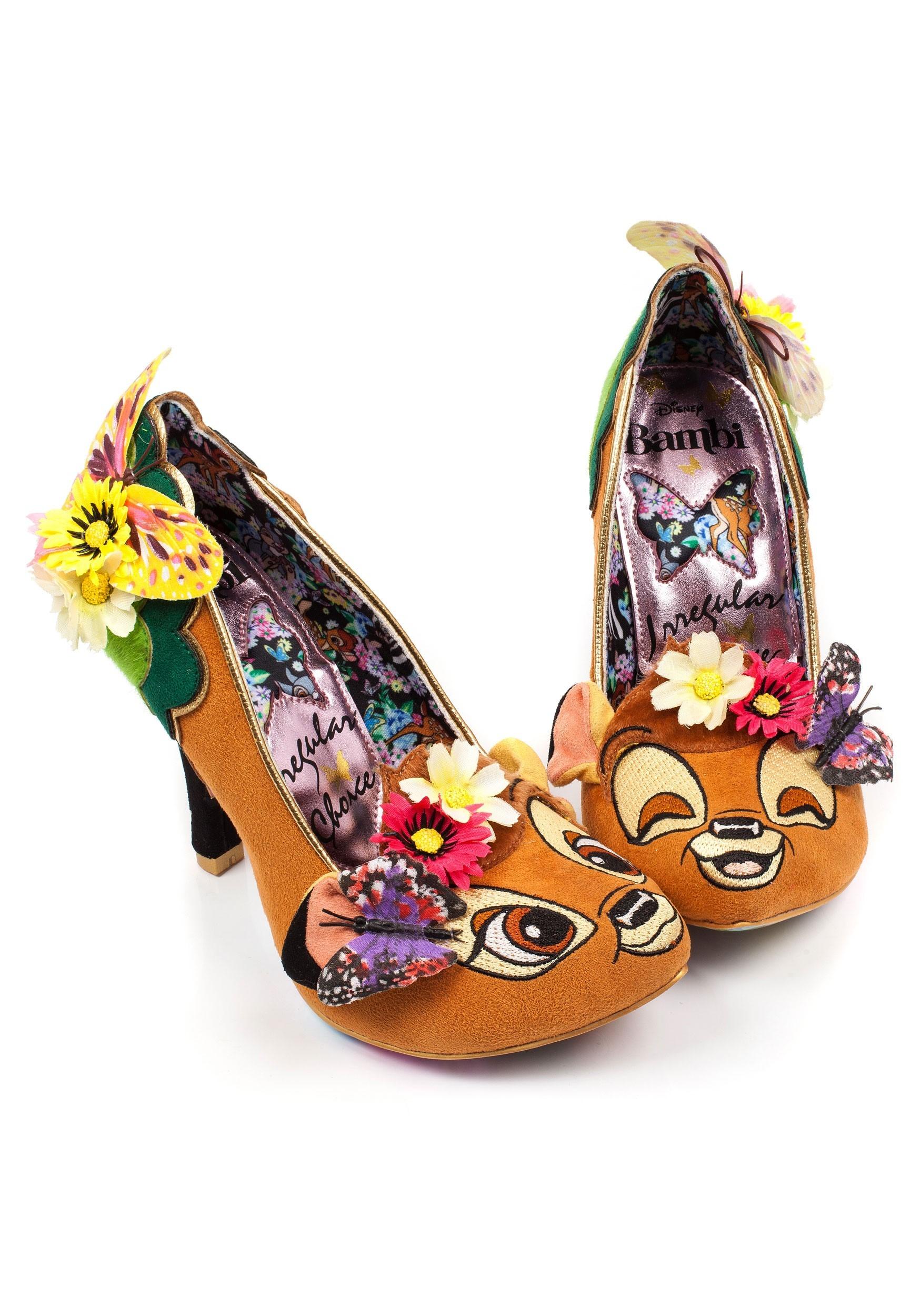 Irregular Choice Disney Bambi High Heels
