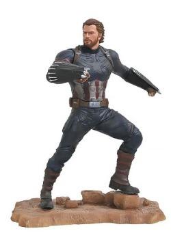 Marvel Gallery Avengers 3 Captain America PVC Statue2