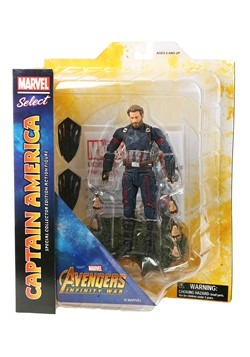 Marvel Select Avengers 3 Captain America Action Fi