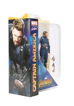 Marvel Select Avengers 3 Captain America Action Fi Alt 1
