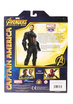 Marvel Select Avengers 3 Captain America Action Fi Alt 2