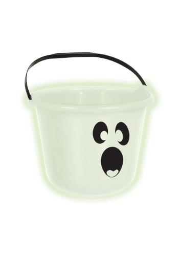 Ghost Pumpkin Treat Bucket
