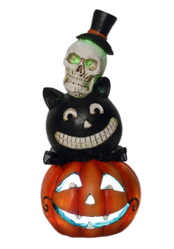 Resin LED Halloween Stack Heads Décor update1