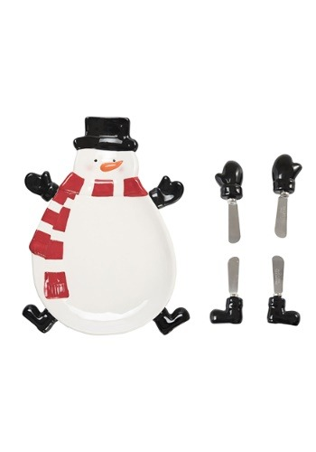 Snowman Bowl w/ Spreaders