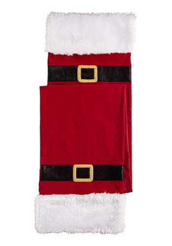 Fabric Santa Table Runner