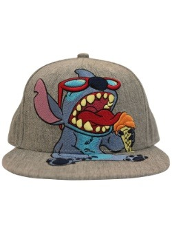 Stitch Snapback Hat