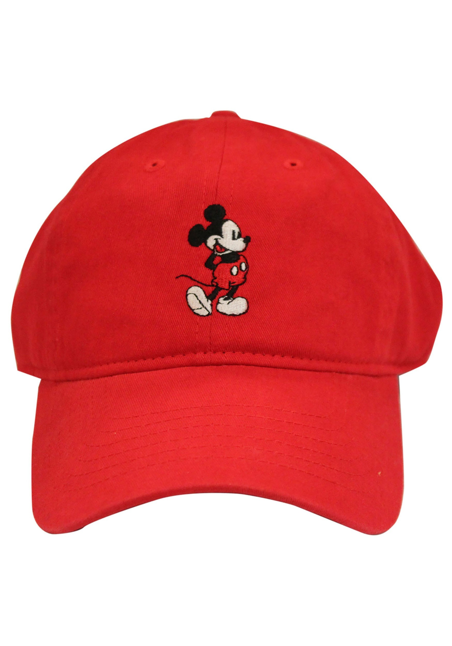 Mickey Mouse Red Dad Hat ac681f35034