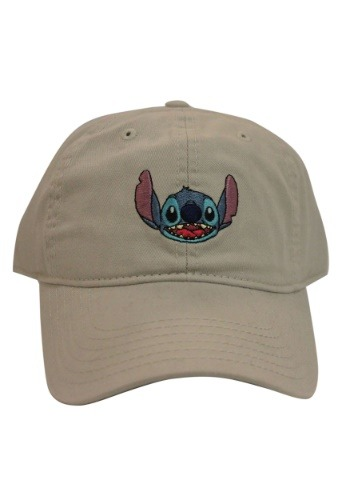 Stitch Gray Dad Hat