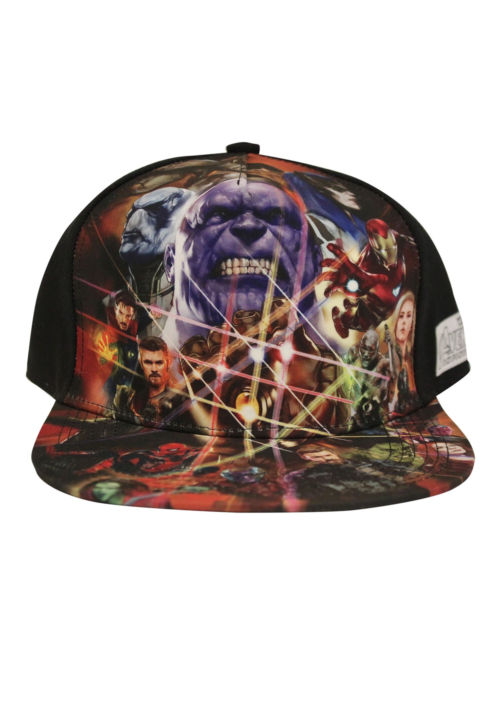 66ae66c5 Avengers Infinity War Sublimated Cap