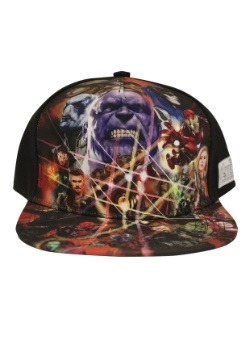Avengers Infinity War Sublimated Cap
