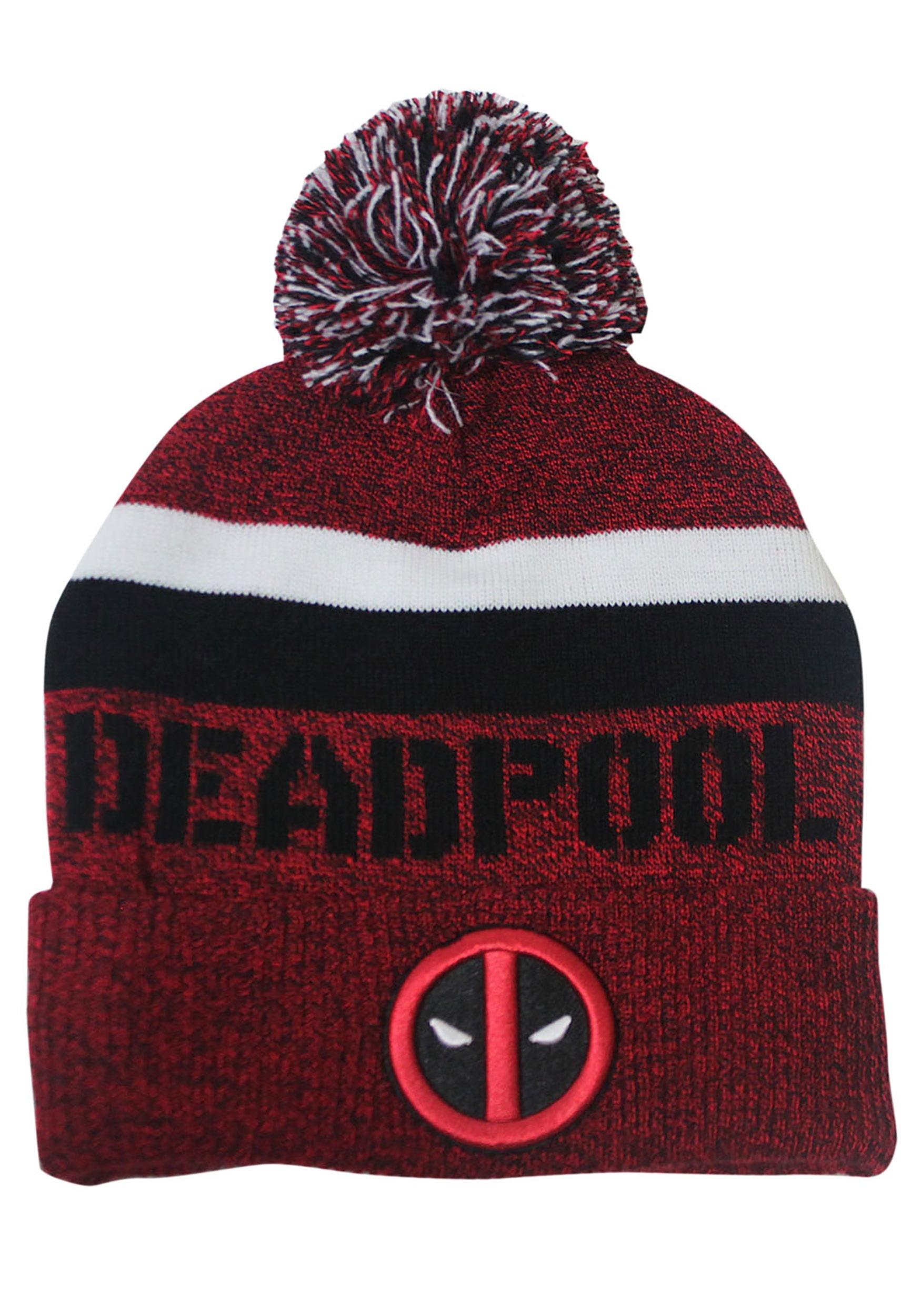 8637d7b2a03 Deadpool -Logo Beanie