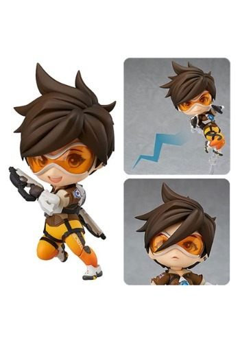 Overwatch Tracer Classic Skin Edition Nendoroid Ac