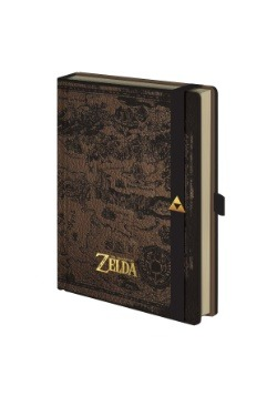 Zelda Hyrule Map Premium Journal