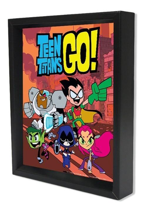 Teen Titans Go! – Group 8x10 Lenticular Shadowbox