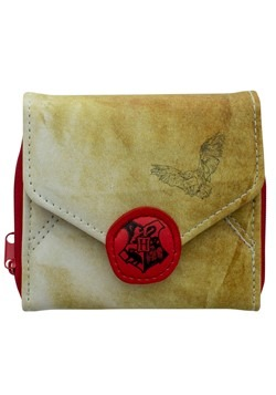 Harry Potter Hogwarts Letter Wallet