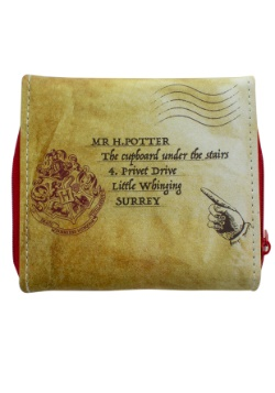 Harry Potter Hogwarts Letter Wallet Alt 3