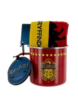Harry Potter Gryffindor Quidditch Tin Mug & Sock Set