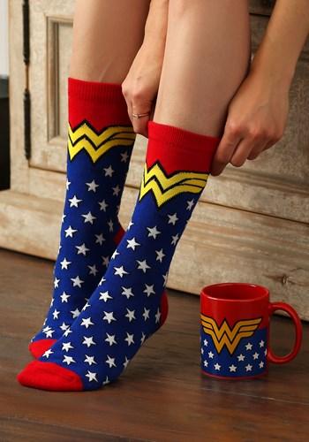 Wonder Woman Mug & Socks Set