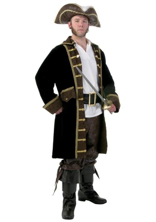 Men's Realistic Pirate Costume Plus Size