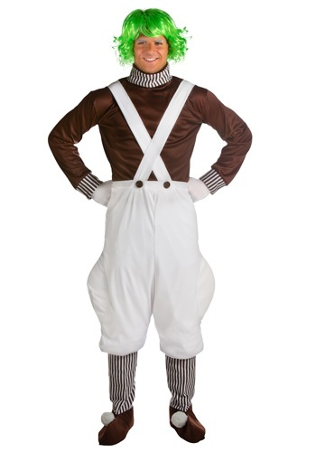 Oompa Loompa Plus Size Mens Costume