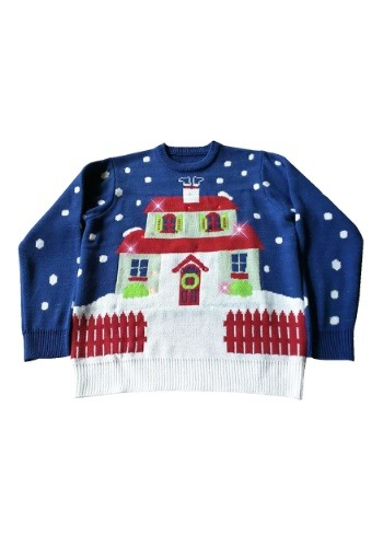 Adult House With Too Many Lights- Ugly Christmas Sweater