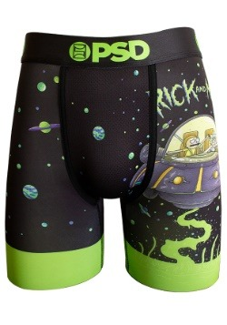 PSD Underwear- Rick & Morty Flying Mens Boxer Briefs