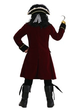 Deluxe Captain Hook Plus Size Costume Update1 Back