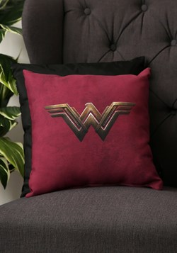 "Wonder Woman Movie Logo 14"" x 14"" Throw Pillow"