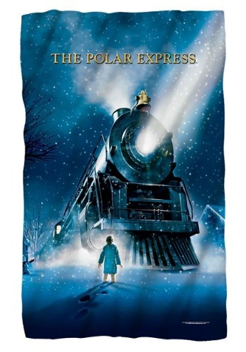 The Polar Express Lightweight Fleece Blanket