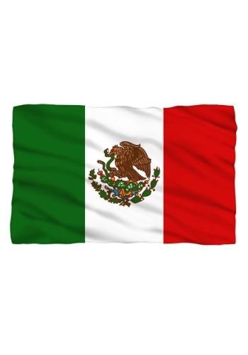 Mexico Flag Lightweight Fleece Blanket