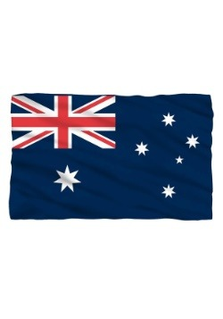 Australian Flag Lightweight Fleece Blanket