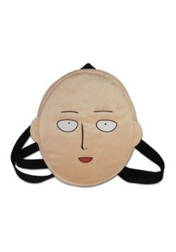 One Punch Man Saitama Face Plush Bag