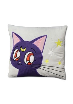Sailor Moon Supers Luna Throw Pillow