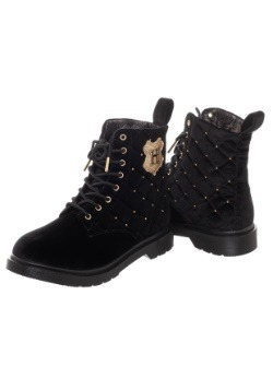 Harry Potter Quilted Womens Boots