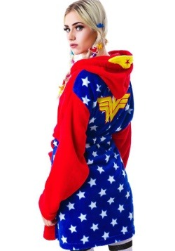 Wonder Woman Hooded Plush Robe2
