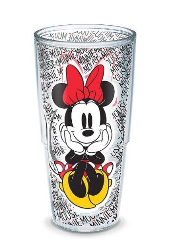 Tervis Disney Minnie Mouse Name Pattern 24oz Tumbler